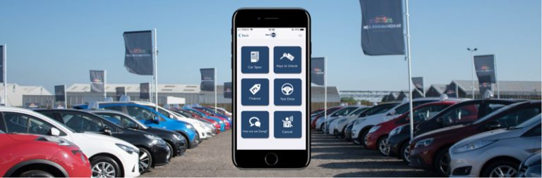Use Buzz2Get to view each car's specification, AA report or finance options when visiting a car dealerships